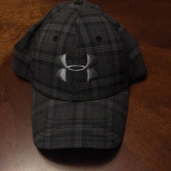 under armour plaid hat